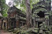 Ancient temple in angkor wat