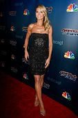 NEW YORK-AUG 6: Model Heidi Klum attends the 'America's Got Talent' post show red carpet at Radio City Music Hall on August 6, 2014 in New York City.