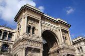 picture of emanuele  - Milan Italy Galleria Vittorio Emanuele II  - JPG