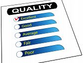 Quality Survey Report Check List
