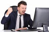 Emotions Business Man