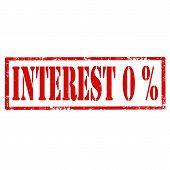 Interest 0%-stamp