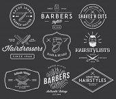 image of barber razor  - Vector badges and crests for any use - JPG