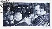 Glassblowers Stamp