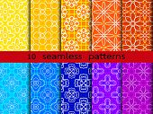 Flower pattern  for making seamless wallpapers