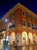 City Of Nice - Architecture Of Place Massena At Night
