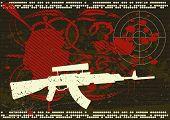 Grunge Army Background