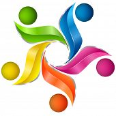 Colorful artistic design