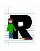 Alphabet Start Of School Two R