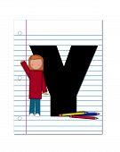 Alphabet Start Of School Two Y