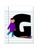 Alphabet Start Of School Two G