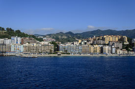 stock photo of messina  - View of the city of Messina in Italy - JPG