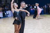 Minsk-belarus, December 20,2014: Professional Belarussian Dance Couple Of Kosyakov Egor And Belmach