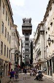 Lisbon. Elevator De Santa Justa