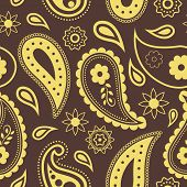 Seamless pattern. Paisley