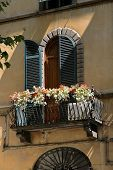 Doorway & Balcony In Lucca, Italy