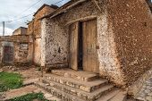 stock photo of fortified wall  - HARAR ETHIOPIA  - JPG