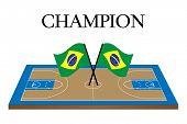 Basketball Champion Brazil