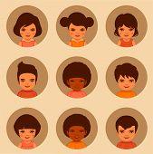 kids avatars