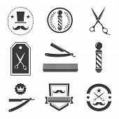 pic of barber  - Barber shop logo - JPG