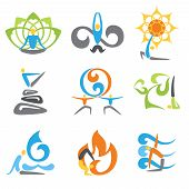 Yoga Emblems Set