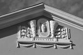 Bas-relief On Building, Metallostroy.