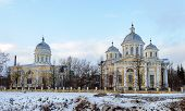 Savior Transfiguration Cathedral In Torzhok, Winter Time