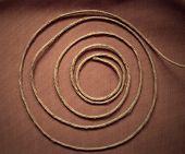 Hank of rope or string