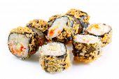 Tempura Roll With Salmon And Avocado