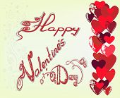 Greeting Card For St. Valentine's Day.1