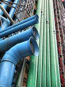 Paris - Pompidou museum's Pipes