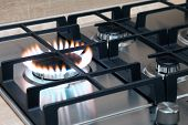 Gas Burner Flame
