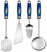 Постер, плакат: Kitchen Utensils
