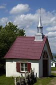 pic of chapels  - Canada Quebec a little chapel in Orleans Island - JPG