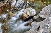 foto of fall day  - Bruar falls Highlands Scotland - JPG