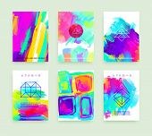 image of marriage decoration  - Set of Cards for Marriage - JPG