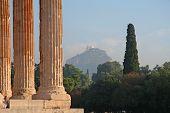 Athens Landmarks poster