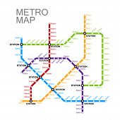 ������, ������: metro or subway map design