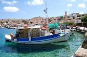 Fishing boats, Halki island