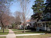 Beautiful American Neighborhoud