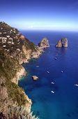 Capri y farallones, Campania, Italia