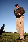 Golfer On Fairway