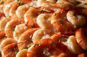 Delicious Grilled Tiger Shrimps poster