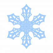 Snowflake Vector Icon poster