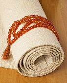 Yoga Mat And Rosaries