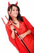 Постер, плакат: Женский красный дьявол