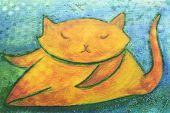 Cute Chubby Orange Cat