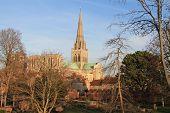 Kathedraal van de stad van Chichester.