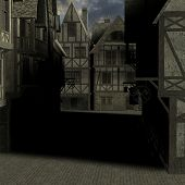 Medieval City poster