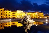 Vienna By Night, Schonbrunn Palace